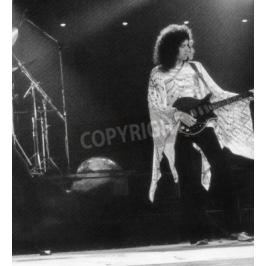 Fototapeta QUEEN - UK group with Brian May in 1976