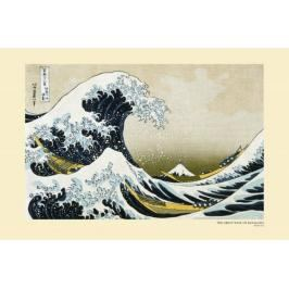 Japonia - Hokusai Great Wave - plakat