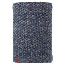 Neckwarmer BUFF Knitted Polar Fleece - Margo Blue
